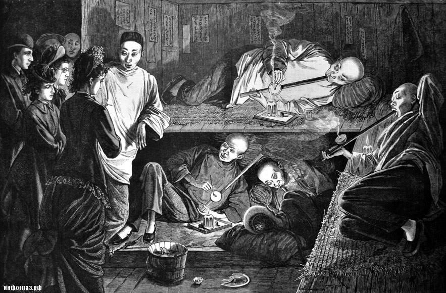 Как Англия травила Китай наркотиками4