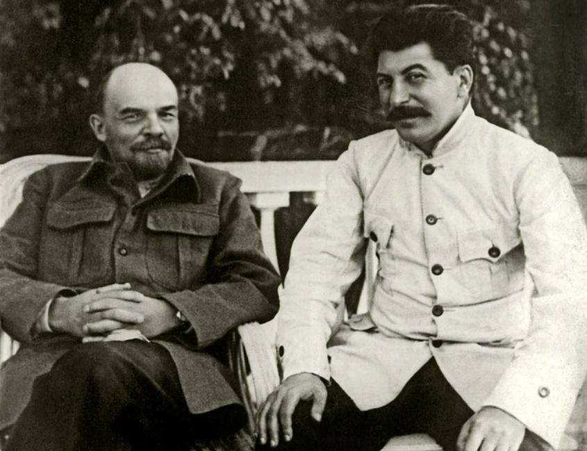 Ленин и Сталин!