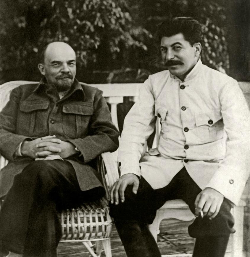 Ленин и Сталин height=618