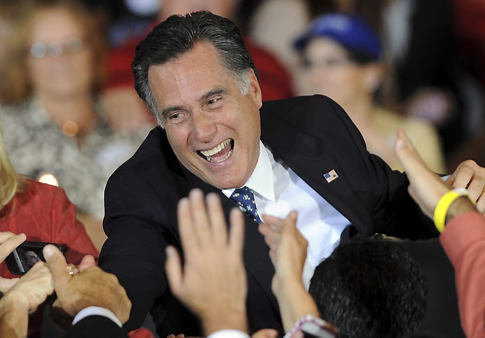 Mitt Romney celebrates primary victory in Florida