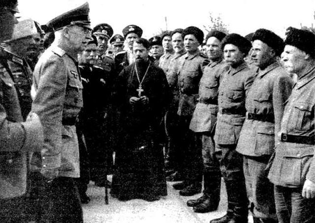 Павловцы казаки 1 го донского полка в составе вермахта.