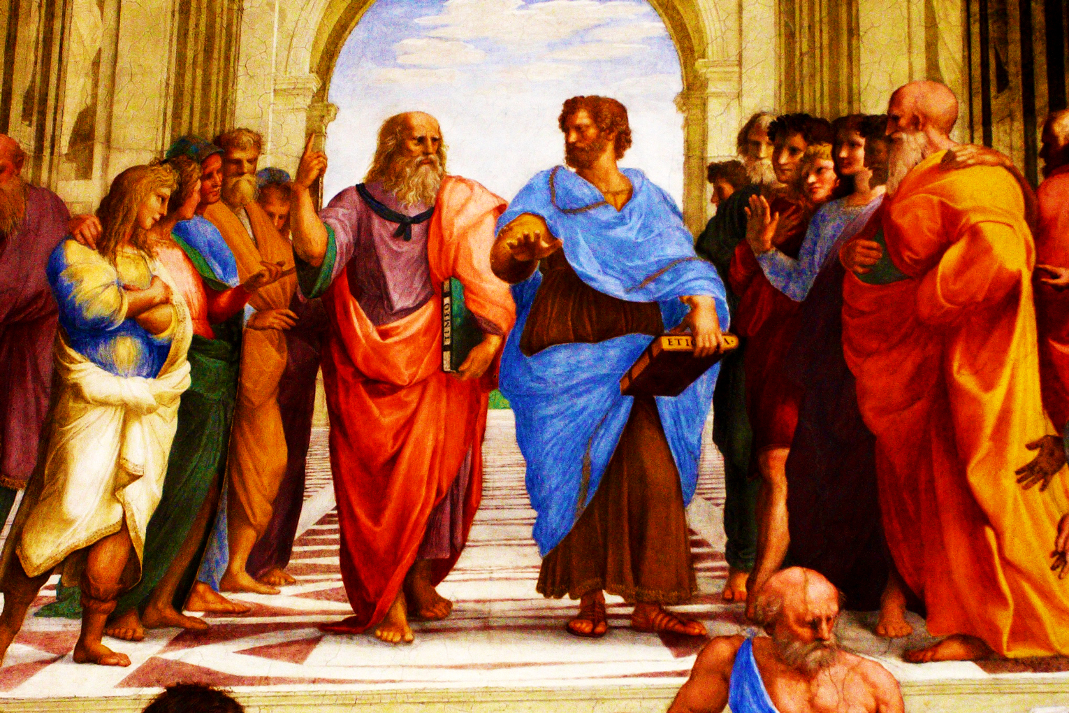 a comparison of the real life philosopher socrates to the religious jesus