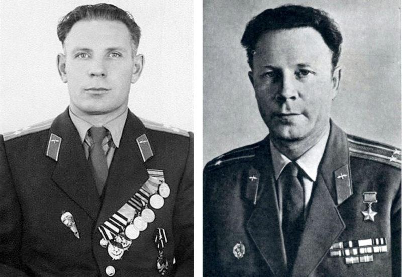 Полковник Петр Долгов и подполковник Евгений Андреев