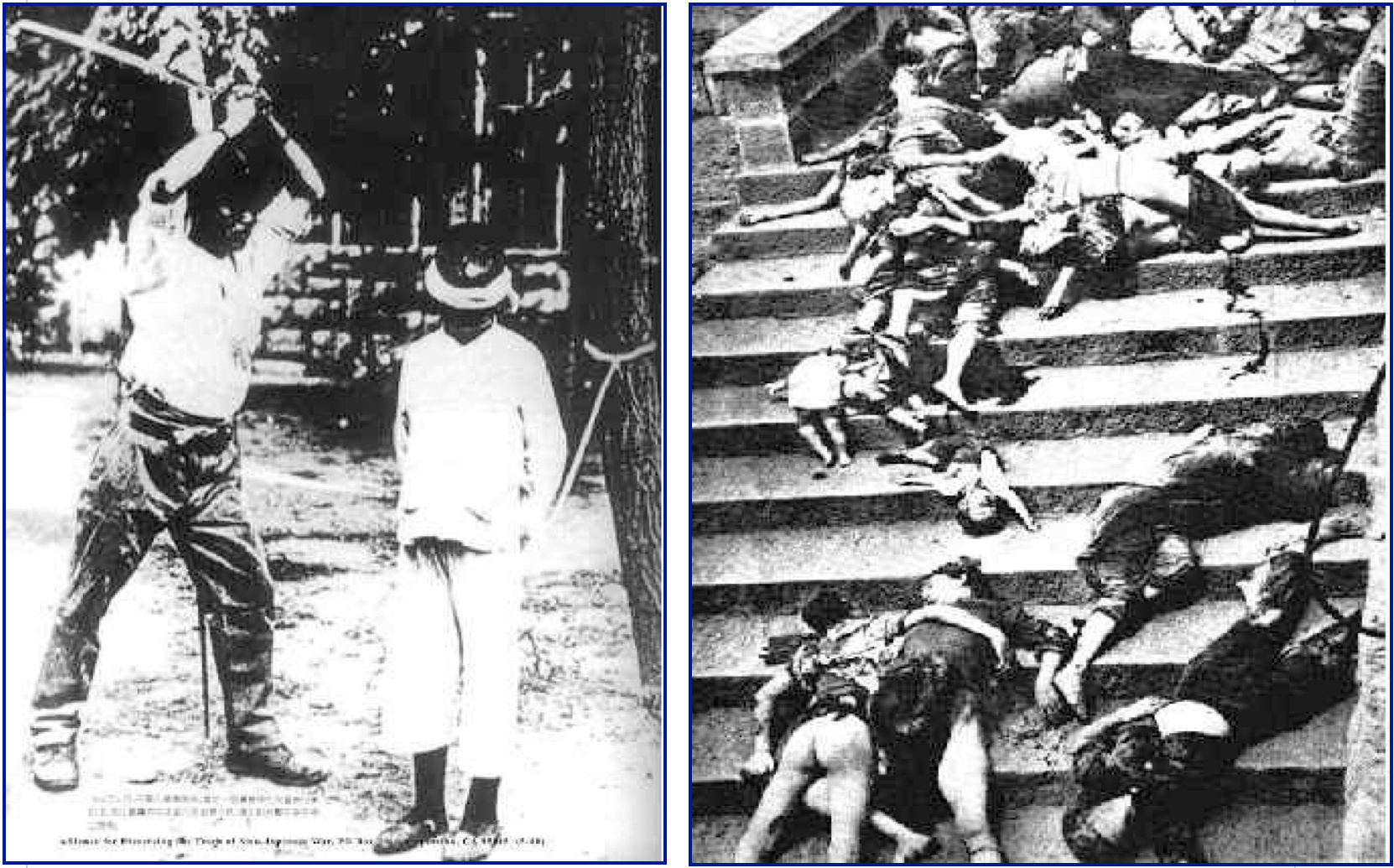 the nankin massacre in china historically forgotten The forgotten holocaust: nanking massacre by chen, deh chien  contents photos from the rape of nanking: an undeniable history in photograph map of major sites of nanking massacres.