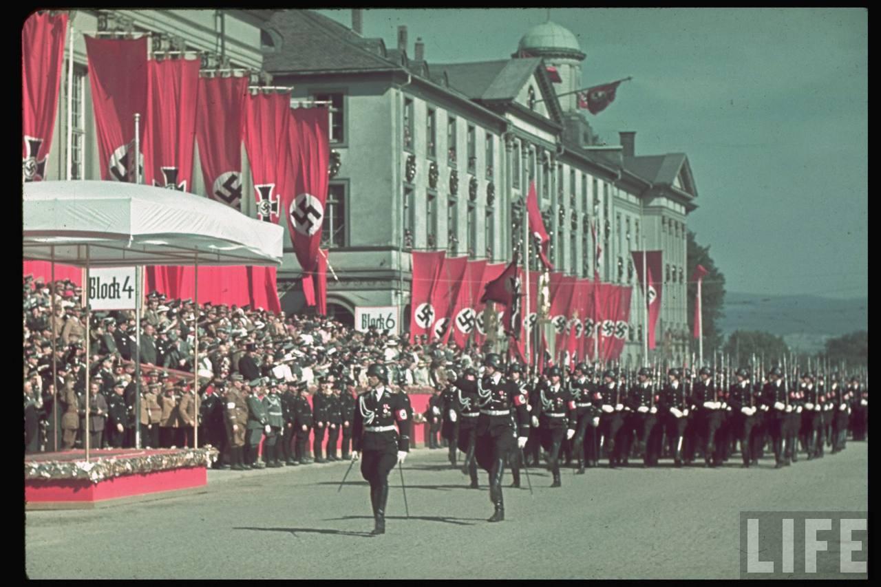 парад третьего рейха