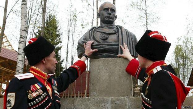 путин и казаки12