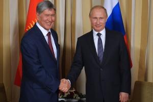 путин и киргизия
