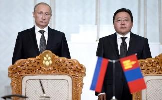 путин и монголия