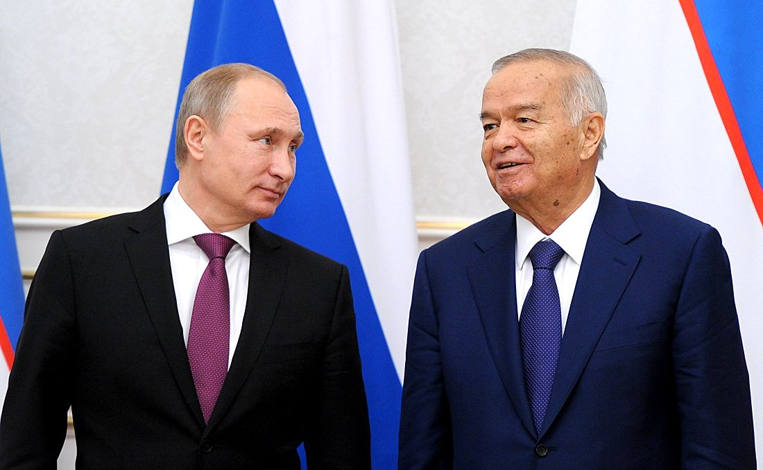 путин и узбекистан1