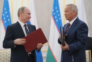 Vladimir Putin, Islam Karimov