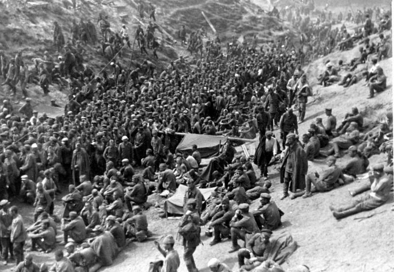 советские военнопленные в начале войны-2