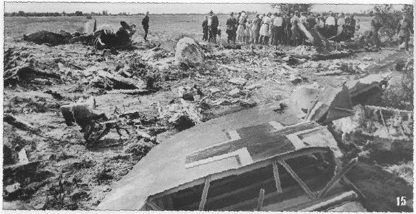 талалихин сбитый самолет