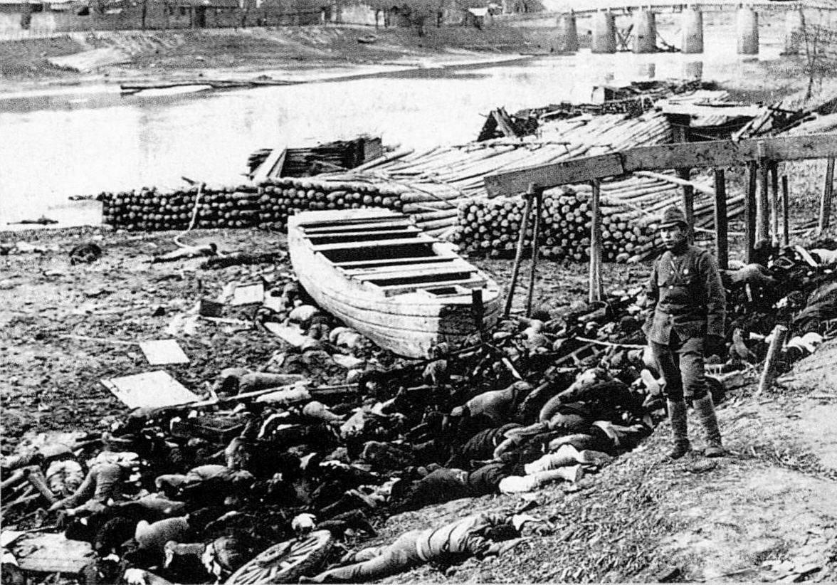 зверства японцев - убитые