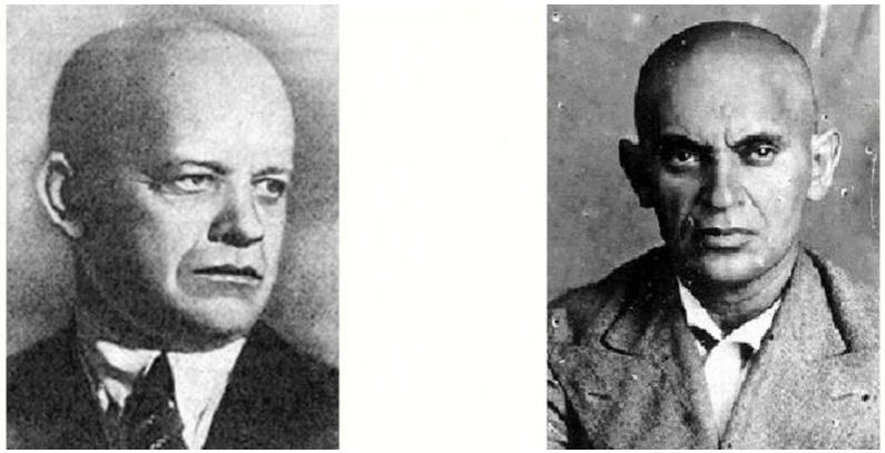 Сергей Викентьевич Косиор и Мендель Маркович Хатаевич