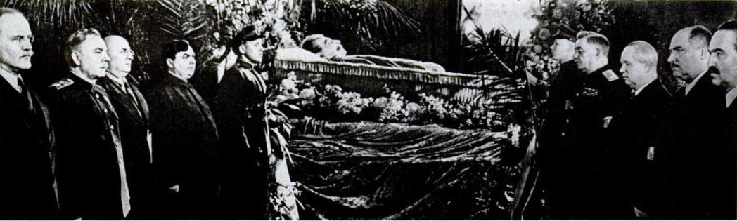 Сталин умер правительство у гроба2