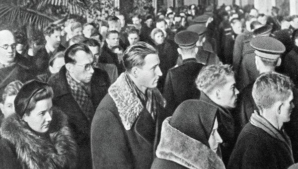 Сталин умер прощание народа