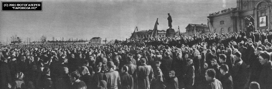 Сталин умер. Горе народное6