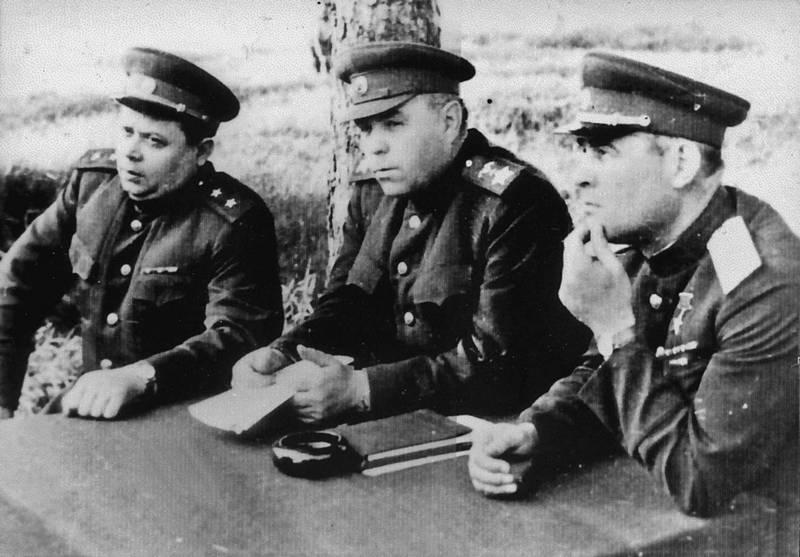 черняховский и другие генералы