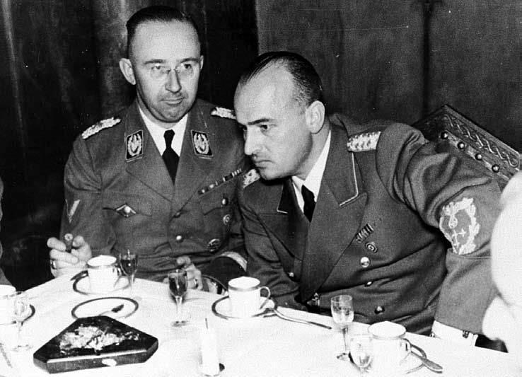 добрый палач Генерал-губернатор Польши, адвокат НСДАП Ганс Франк и Гимлер