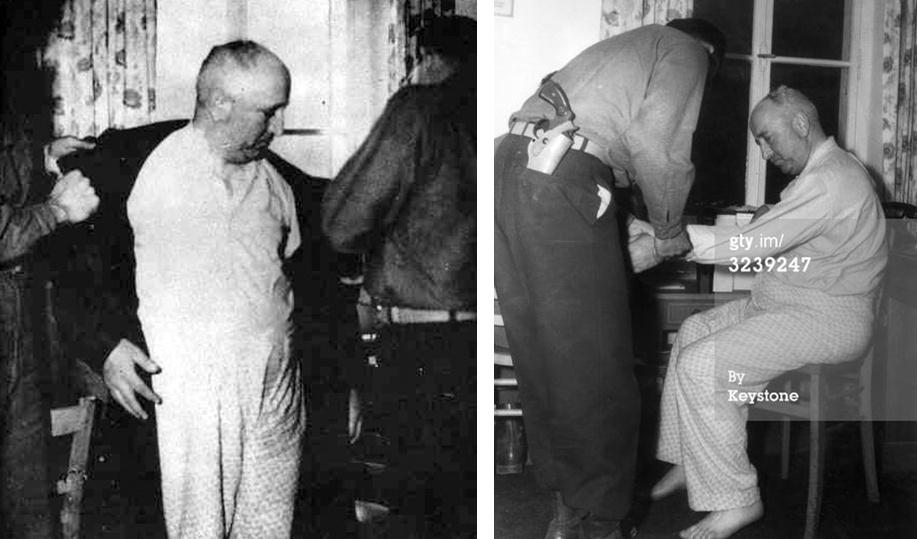 добрый палач Роберт Лей арест (2)