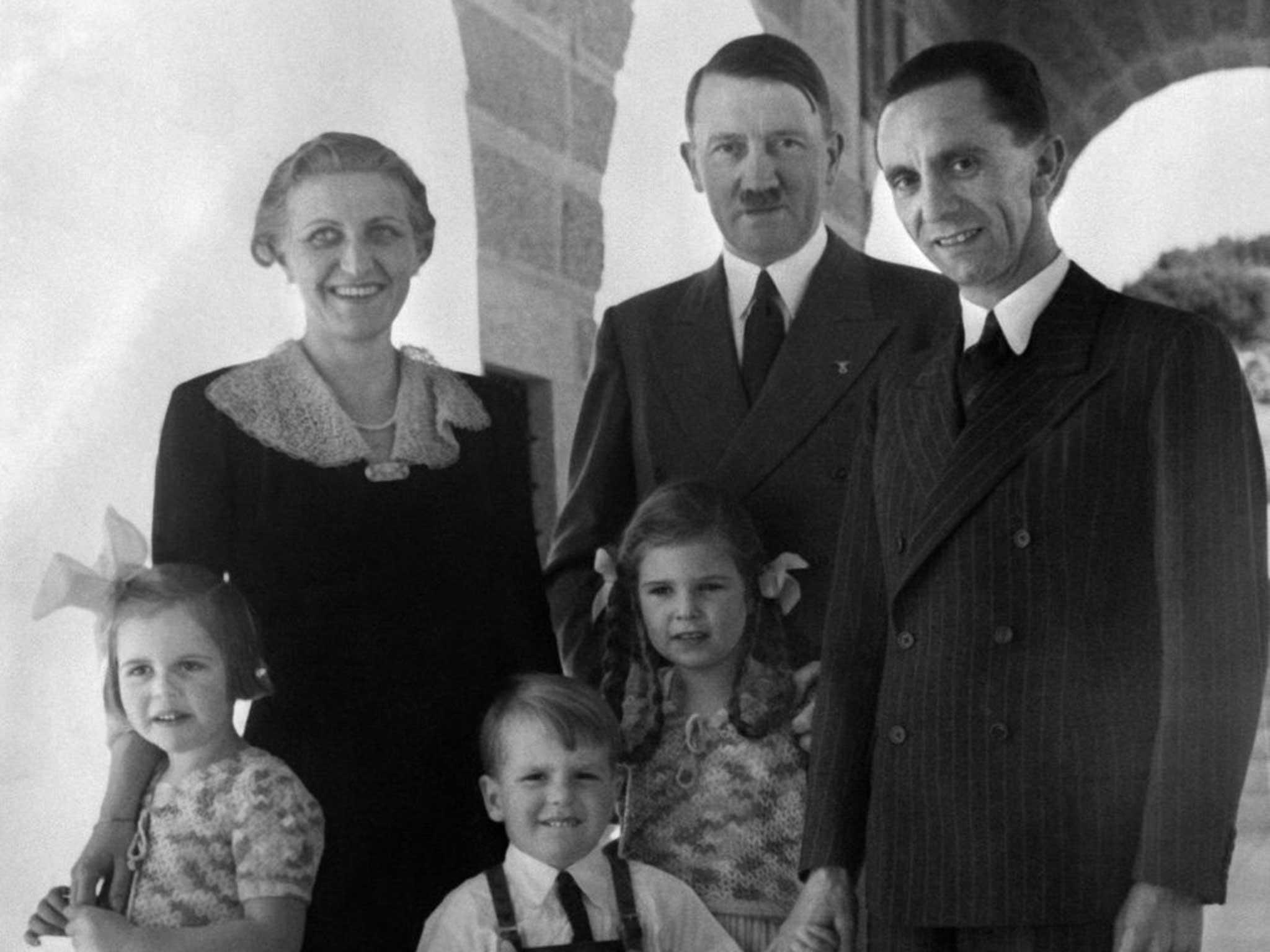 добрый палач семья геббельс и гитлер