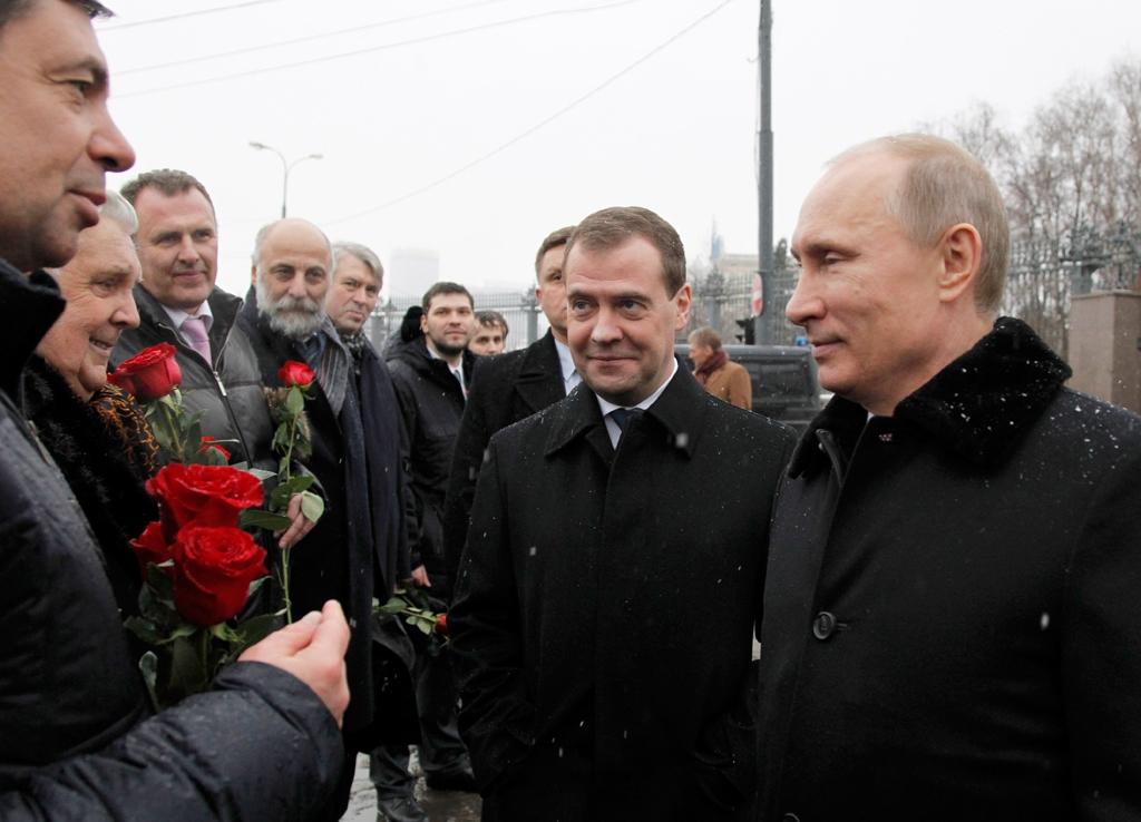 путин мевведев столыпин