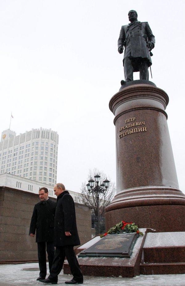 путин мевведев столыпин1