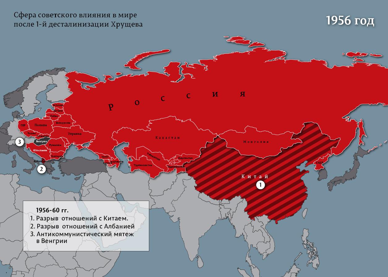 россия 1956-1