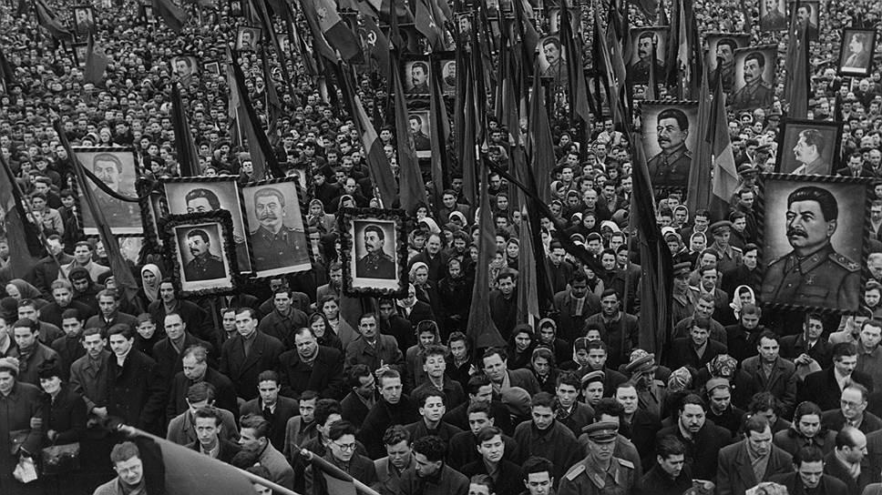 сталин умер народное горе1