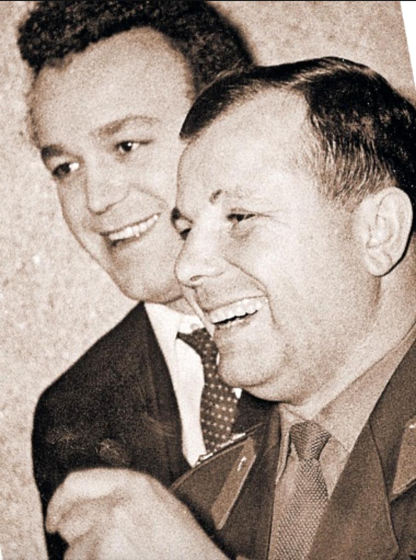 Гагарин и Кобзон