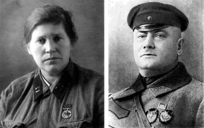 Котовский с женой