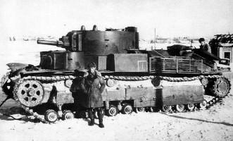 Один танк Т-28 против гитлеровских войск0