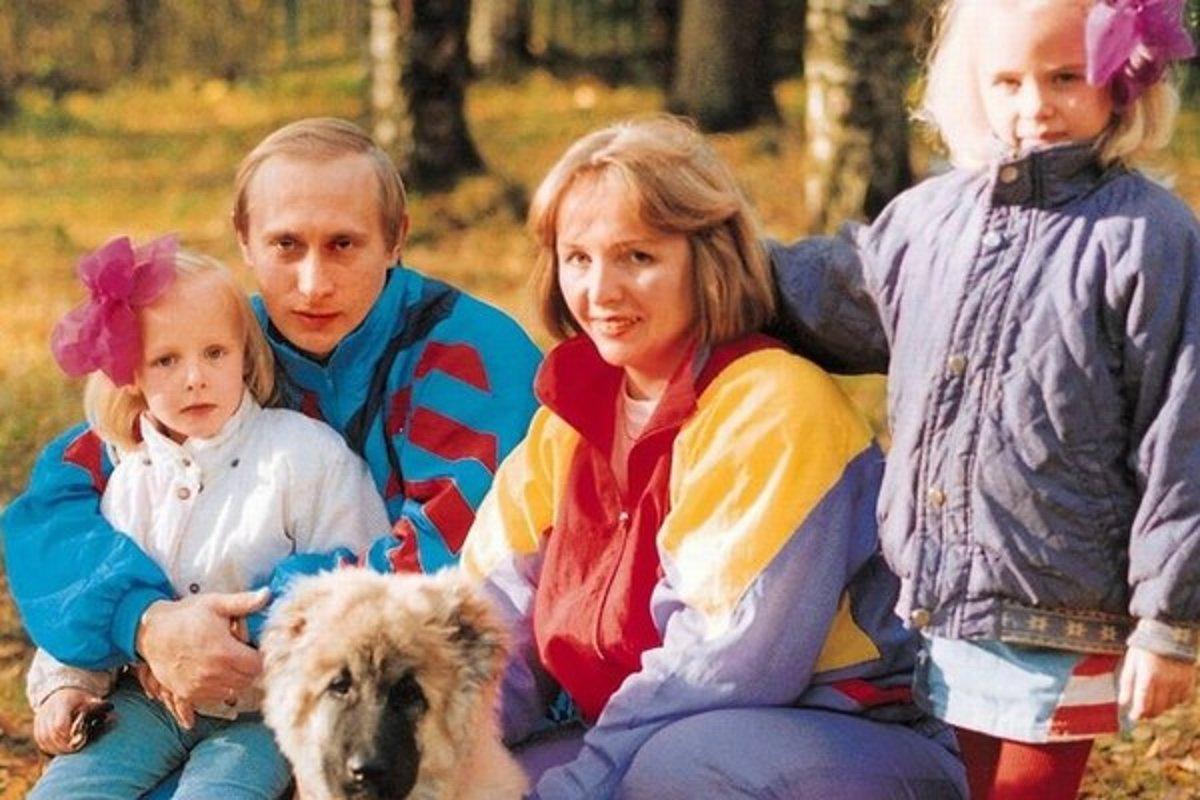 Фото детей людмилы путиной