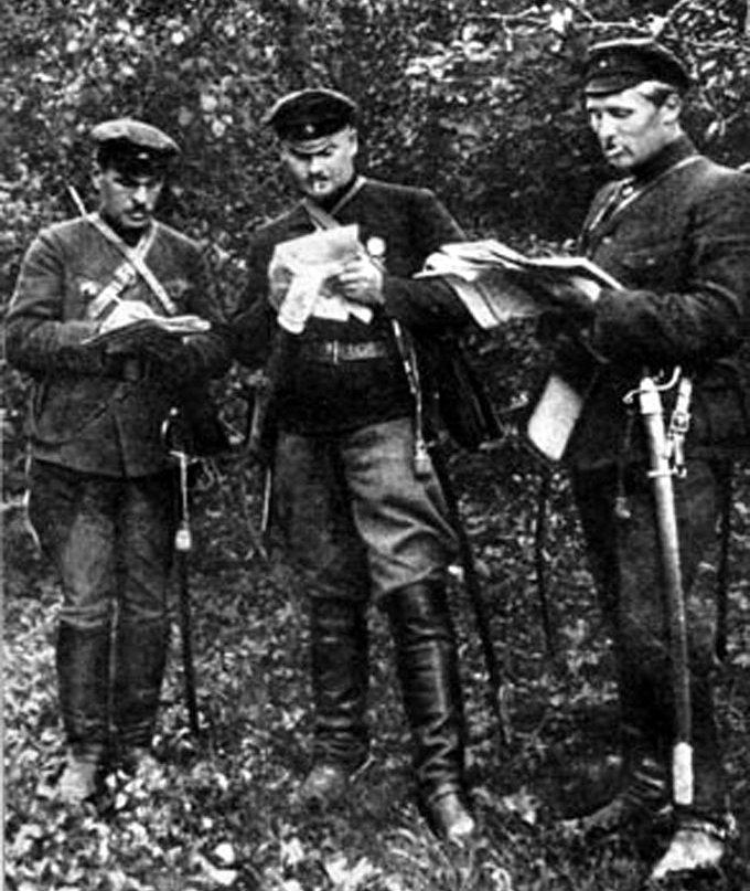 котовский с командирами