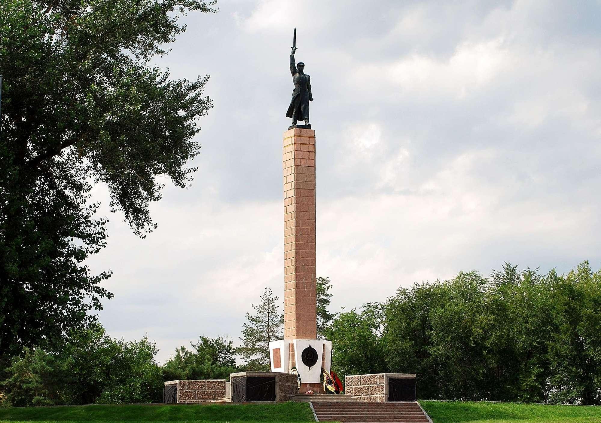 сталинград памятник чекистам