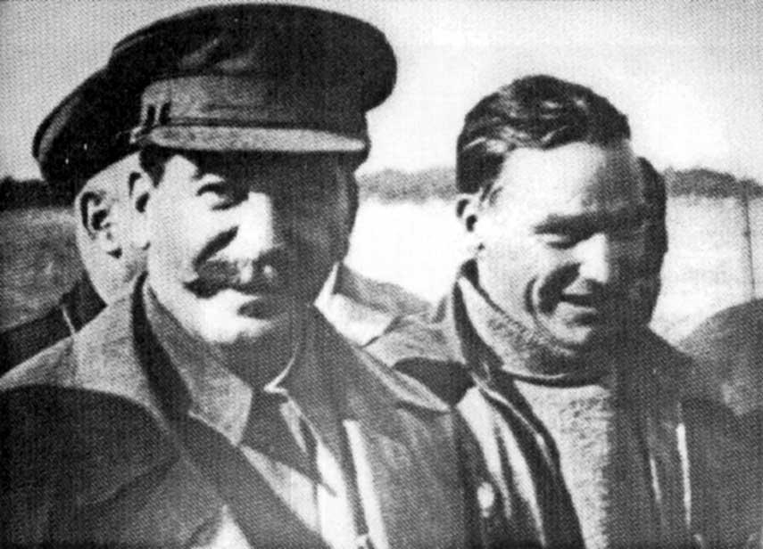 Дети Сталина Чкалов и Сталин2