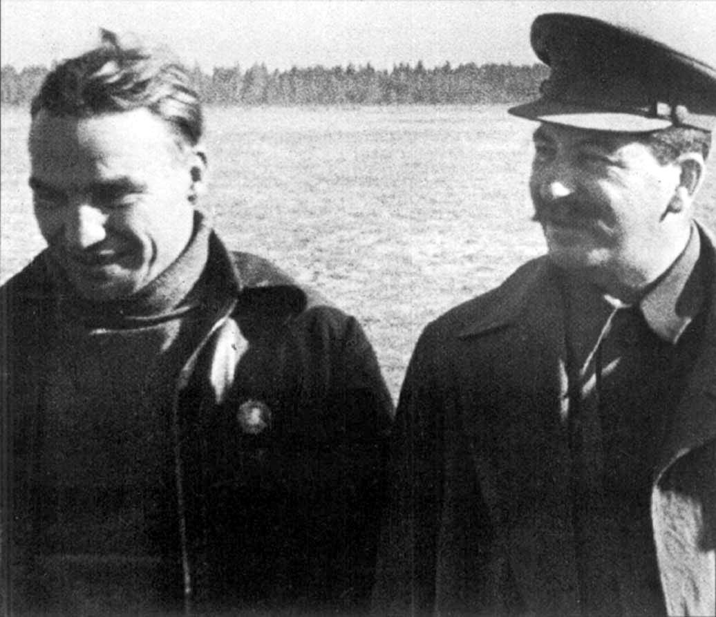 Дети Сталина чкалов и Сталин