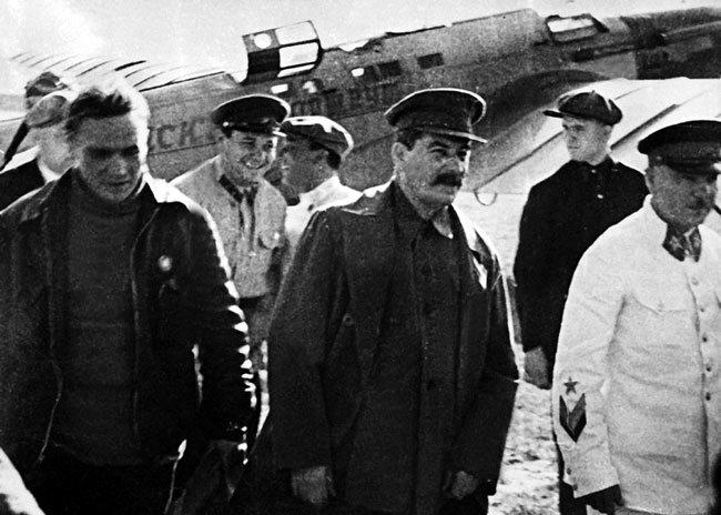 Дети Сталина чкалов1