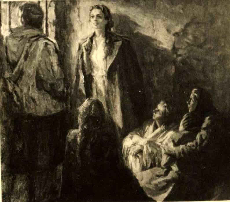 Художник Глебов. Ульяна Громова читает Демона в камере тюрьмы