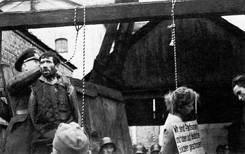 Казнь советских подпольщиков в Минске1