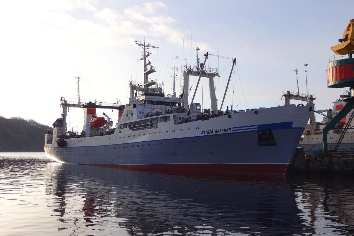 Матвей Кузьмин корабль1