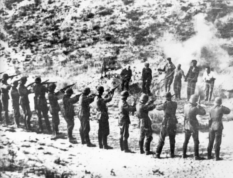 Расстрел советских военнопленных
