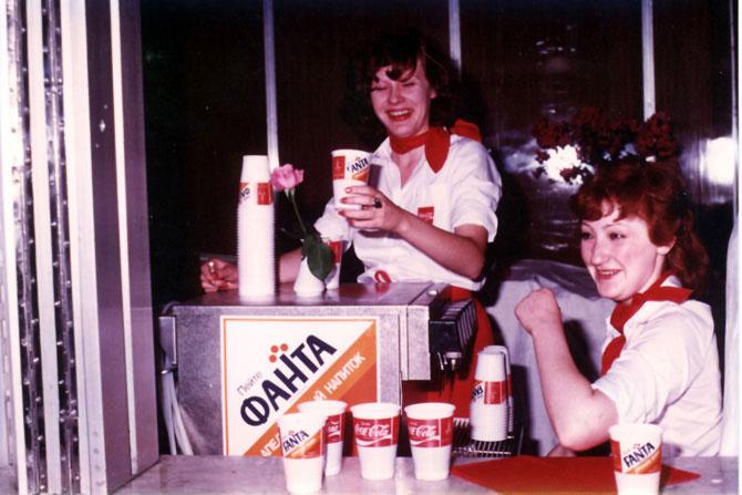 кока-кола гитлер фанта в СССР