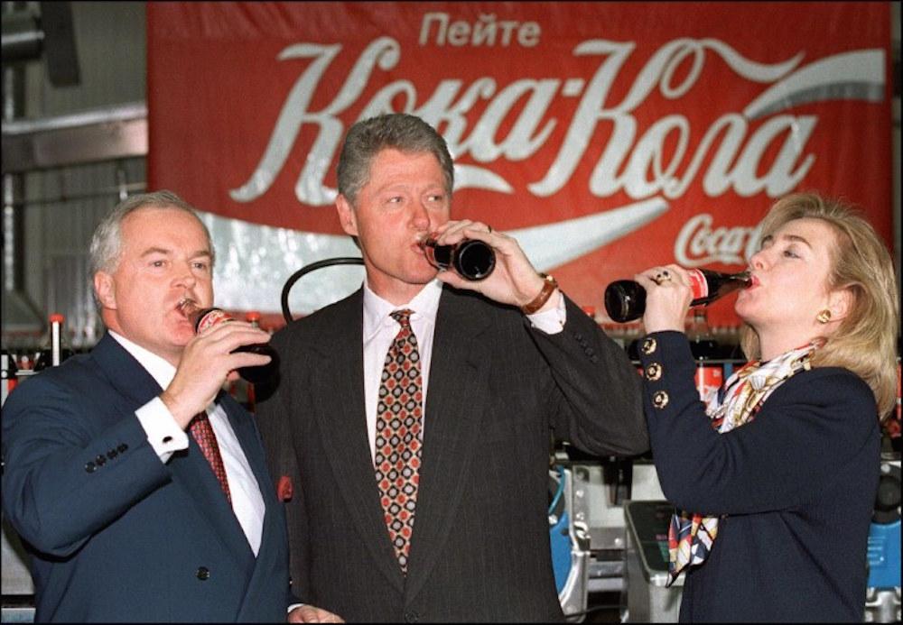 кока-кола гитлер клинтон