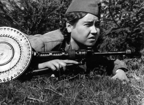 маншук с пулеметом