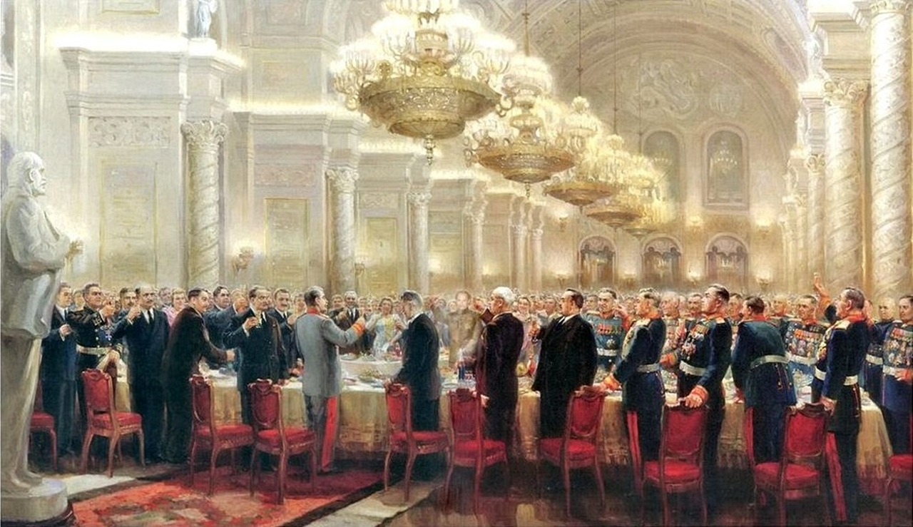 тост Сталина о русском народе!!!