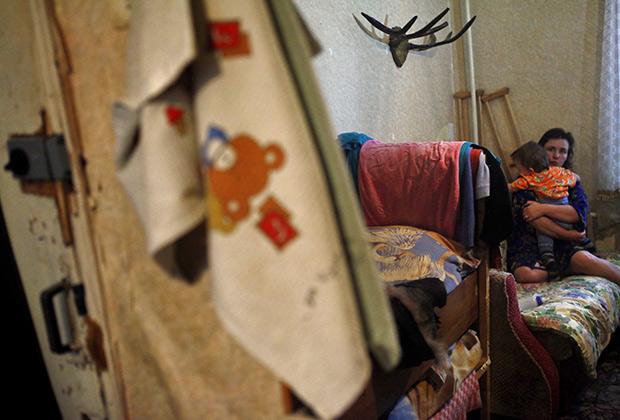 бедность и нищита в россии в общежитии