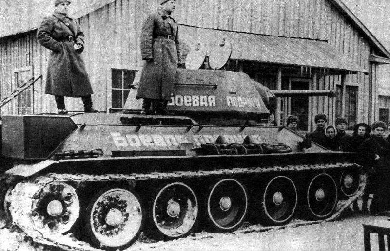 мария октябрьская передача танка1