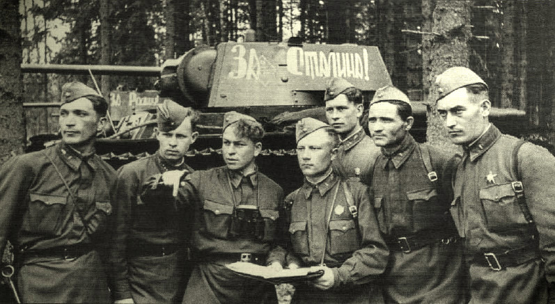 танкисты - экипаж