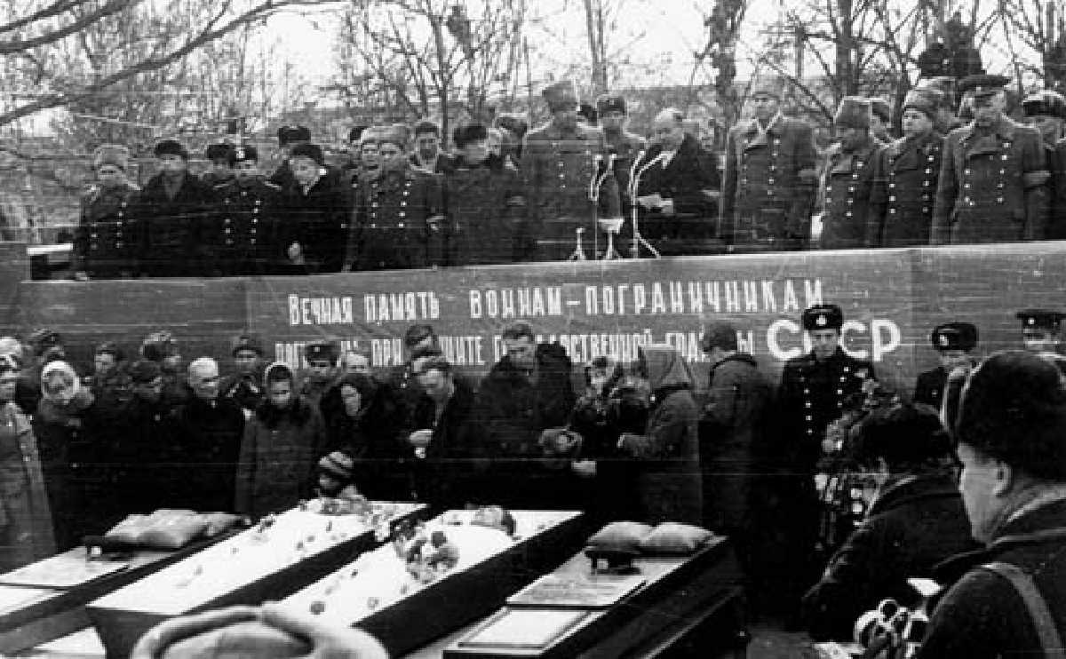 Даманский похороны2
